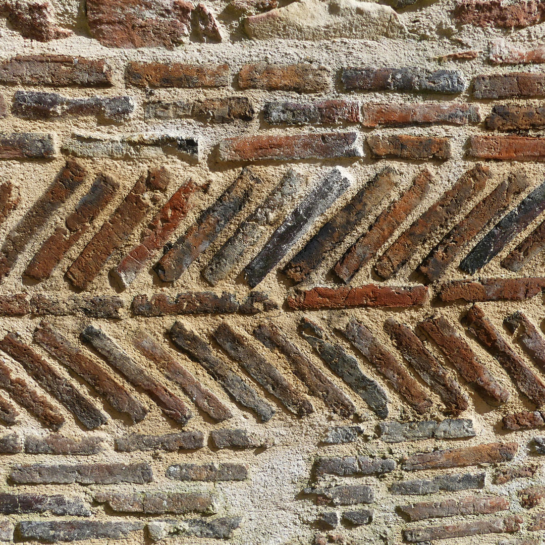 Ancient Brickwork at Gites in Sigournais